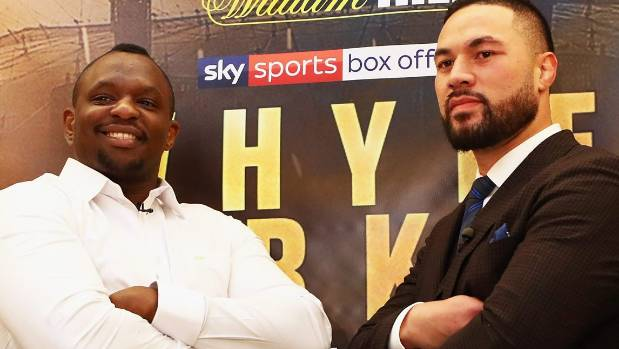 Boxing: Joseph Parker says beating Dillian Whyte will get him world title fights - Parker
