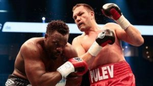 Boxing: Kubrat Pulev is upset with Eddie Hearn and Dillian Whyte - Whyte