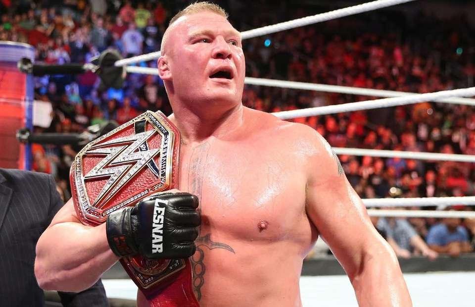 WWE: Speculation on Brock Lesnar's next Title defence - Brock Lesnar
