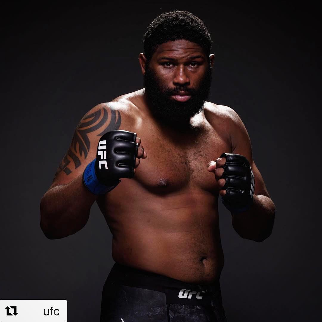 UFC : Curtis Blaydes is 'hunting down legends' - Curtis Blaydes