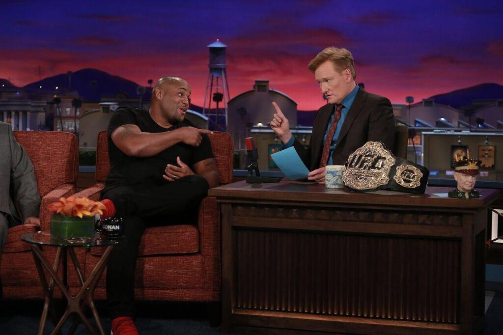 UFC: Daniel Cormier makes an appearance on The Conan show - Daniel Cormier
