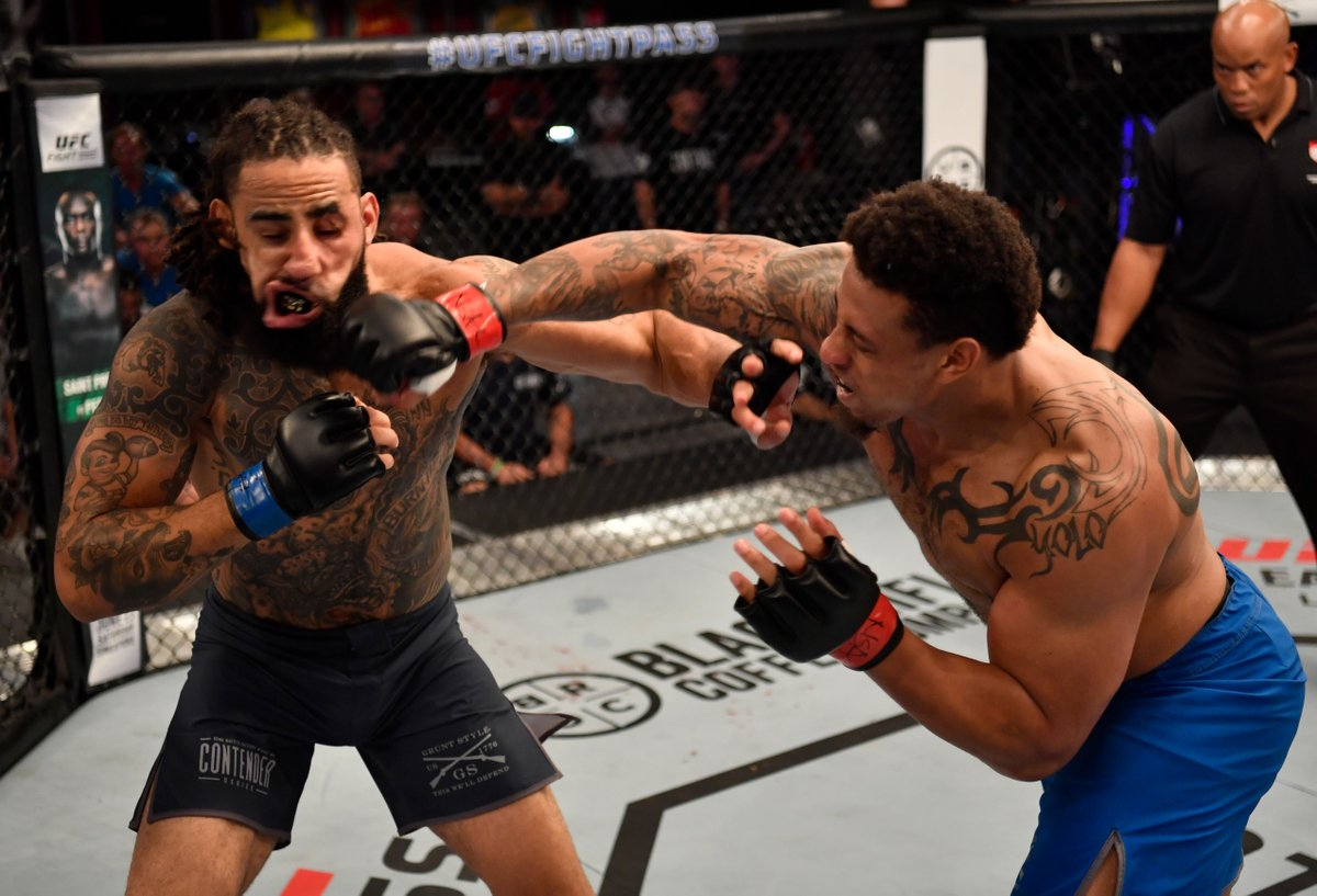 UFC: Ex-NFL star Greg Hardy awarded a UFC contract after scoring a devastating Knockout - MMA