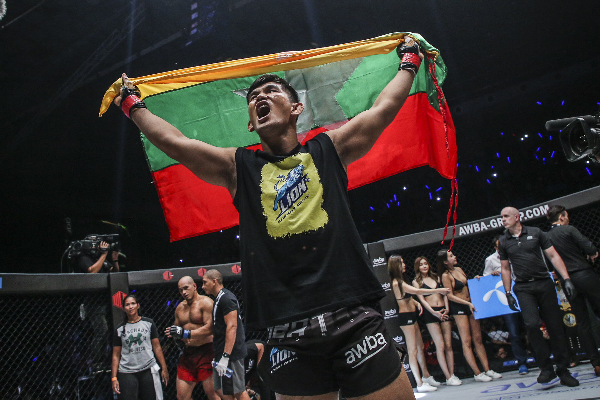 ONE CHAMPIONSHIP ANNOUNCES ADDITIONAL BOUTS FOR ONE: SPIRIT OF A WARRIOR SET FOR YANGON ON 29 JUNE AUNG LA N SANG TO DEFEND ONE MIDDLEWEIGHT WORLD CHAMPIONSHIP AGAINST KEN HASEGAWA -