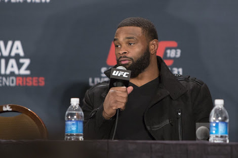 UFC: Tyron Woodley says fighters that 'press' him like Colby Covington get knocked out - Tyron Woodley