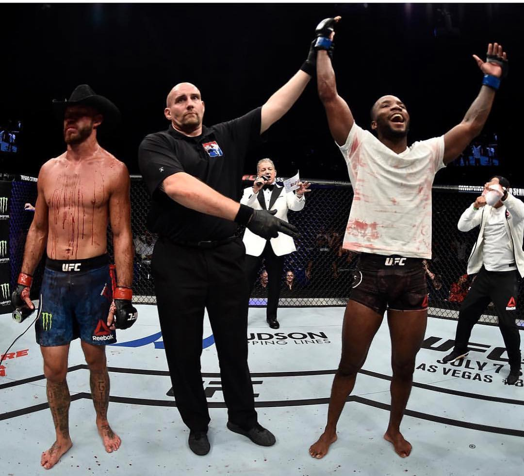 UFC : Leon Edwards praises 'legend' Donald Cerrone, wants to fight Jorge Masvidal in Birmingham - Leon Edwards