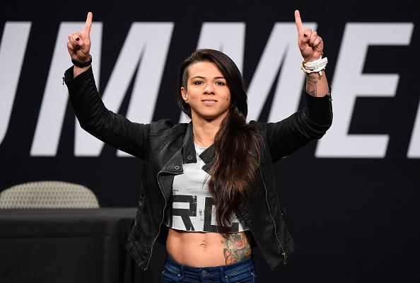 UFC: Claudia Gadelha is happy that Joanna Jedrzejczyk is no longer the champion - Claudia Gadelha