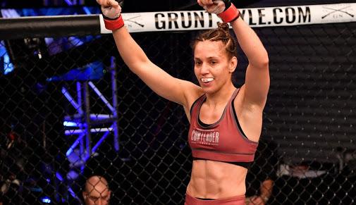 UFC: Dana White's Contender Series Week 3 results, Antonina Shevchenko gets a UFC contract - Antonina Shevchenko
