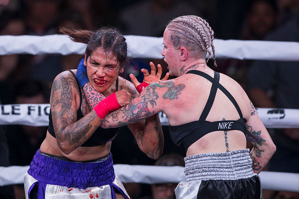 Bare Knuckle FC 1: Bec Rawlings makes successful debut, Ricco Rodriguez and Joey Beltran also pick up huge wins - Bare knuckle
