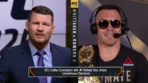 UFC: Michael Bisping and Colby Covington have verbal jousting - colby covington