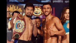Boxing: Bob Arum says that Manny Pacquiao wants to fight Lomachenko at 135 - Arum