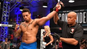 UFC: Greg Hardy injures knee in football game - Hardy