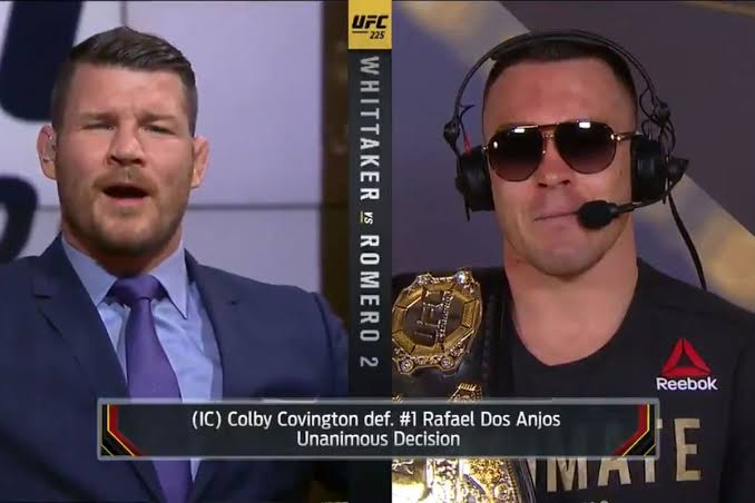 UFC : UFC champ Colby Covington calls Michael Bisping interview 'mockery to the sport' -