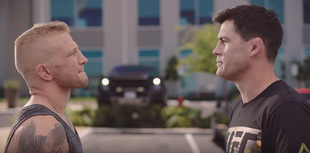 UFC: Bantamweights TJ Dillashaw and Dominick Cruz star in hilarious AD feat. Forrest Griffin - toyo tires