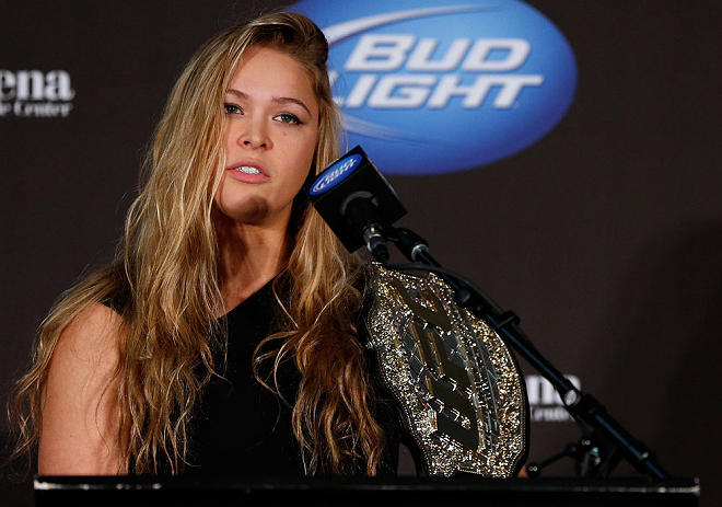 UFC: Ronda Rousey reacts to her Hall of Fame induction - Ronda Rousey