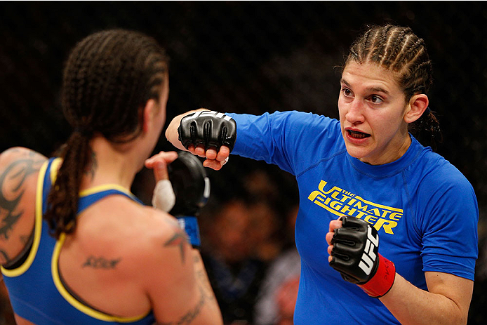 UFC: Roxanne Modafferi defends Flyweight champion Nico Montano - Nico Montano
