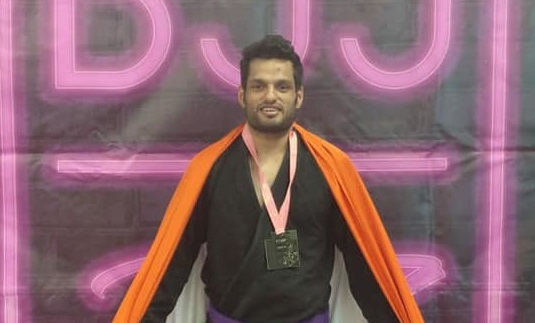 Indian BJJ News: Siddharth Singh reaches semi-finals of ACBJJ World Championships in Moscow - Siddharth Singh