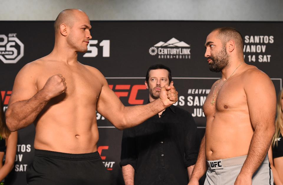 UFC Fight Night 133: Live Results & Play By Play Updates -