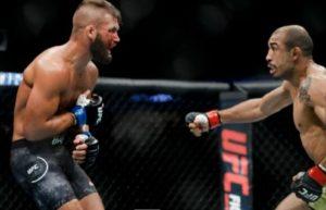 UFC: Jose Aldo's liver shot from hell (video) -
