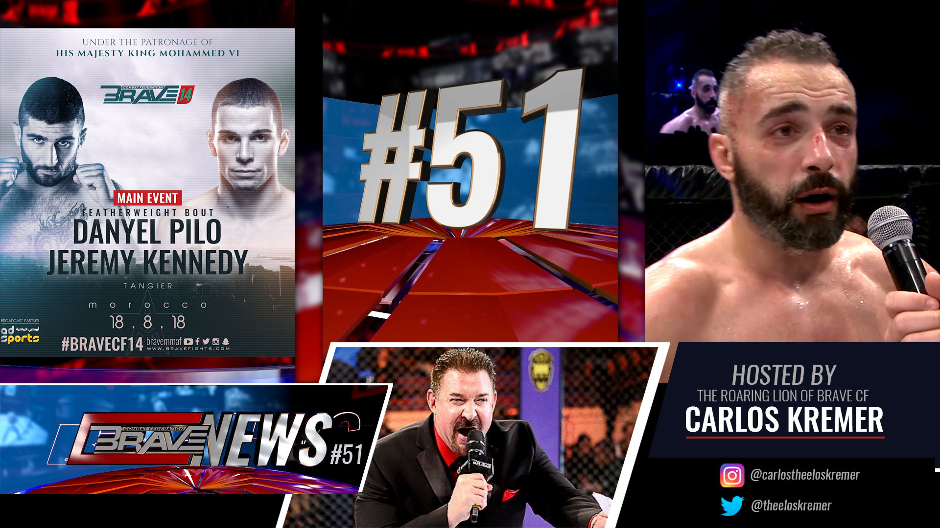 Brave News #51: New-look show announces Jeremy Kennedy on Brave 14 main event - Jeremy Kennedy