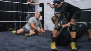 UFC: Cain Velasquez trains at WWE's performance centre - Cain Velasquez