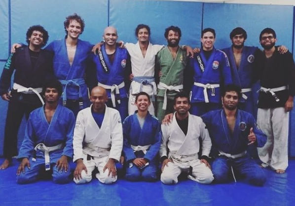 Indian MMA: Abdul Muneer and Mohammed Farhad spend time training at Institute of Jiu-Jitsu Bangalore - Indian MMA