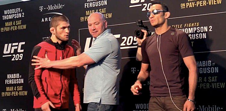 Dana White says he wants Tony Ferguson on the Conor-Khabib card -