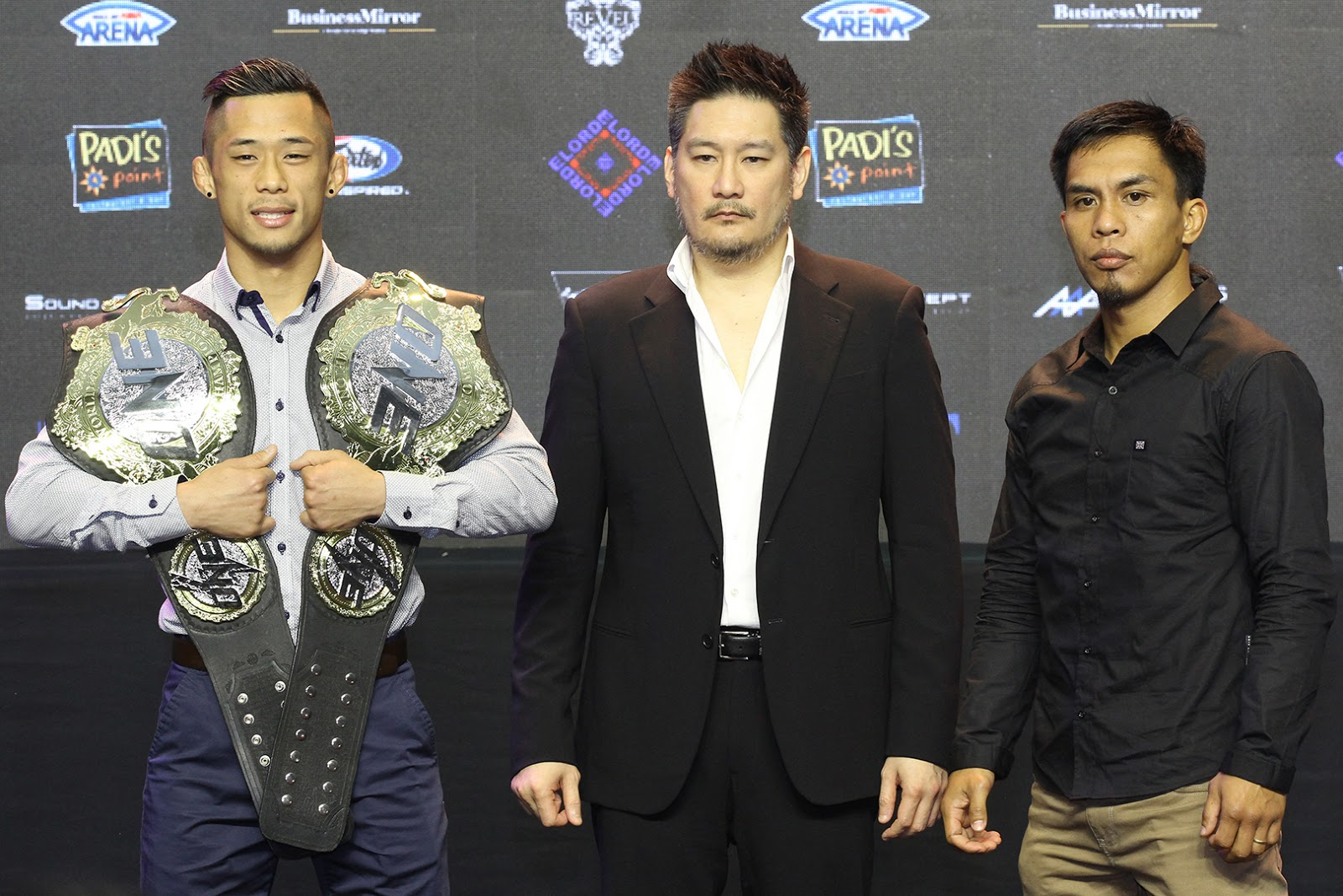 KEVIN BELINGON AND MARTIN NGUYEN FACE-OFF AT ONE: REIGN OF KINGS PRESS CONFERENCE - KEVIN BELINGON