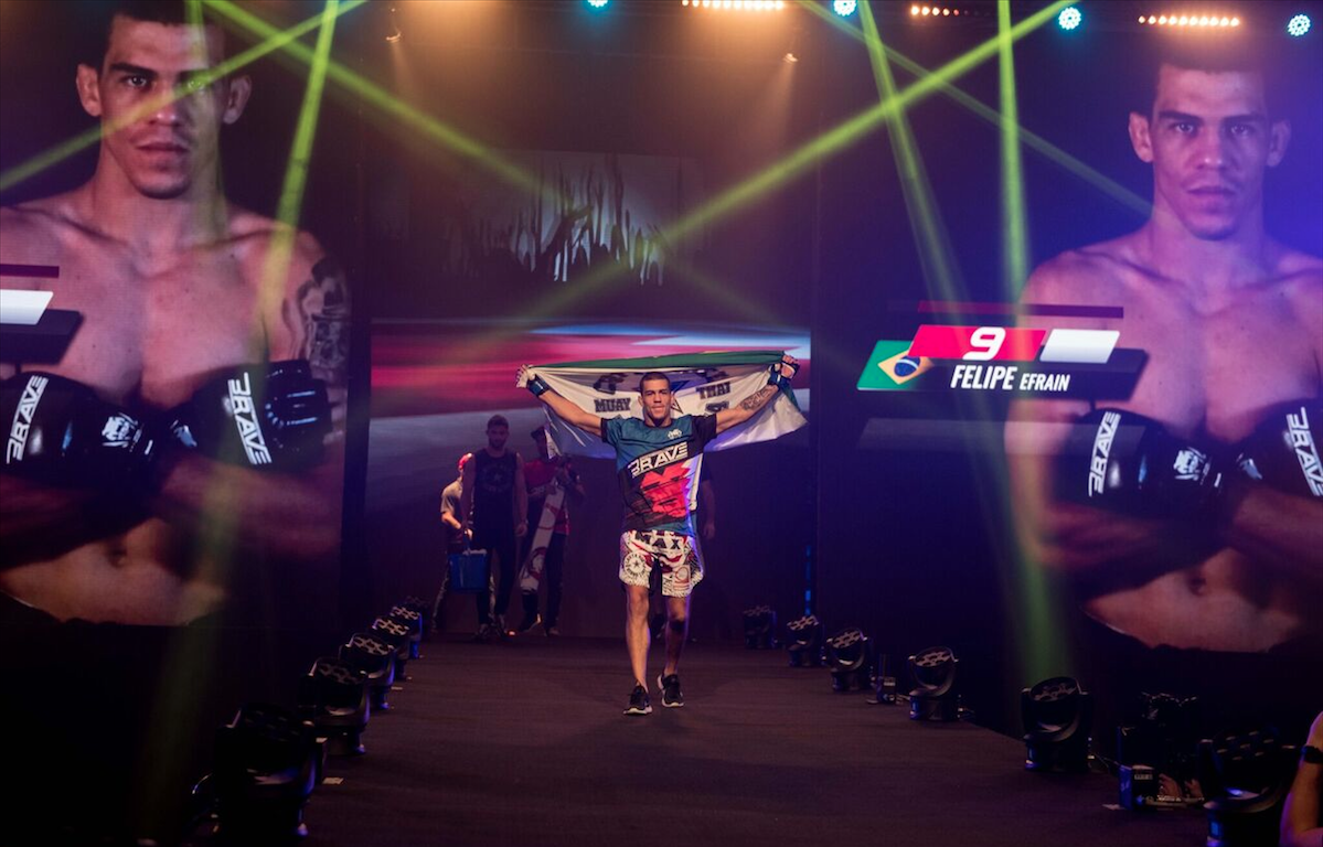 Chute Boxe's Felipe Efrain wants title shot after Brave 14 - Felipe Efrain