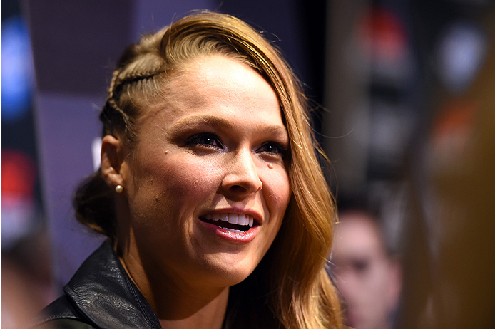 MMA: Watch Ronda Rousey swim with the sharks in her new outing for Discovery Channel - Ronda Rousey