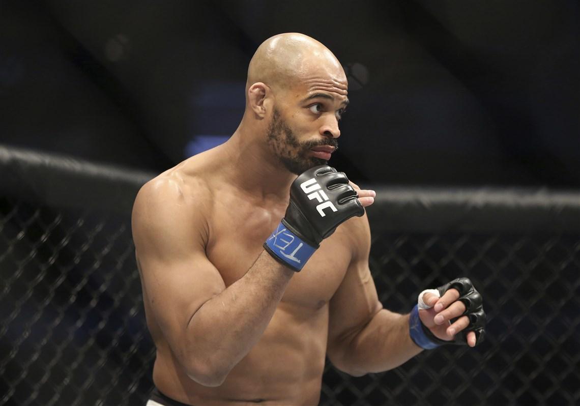 UFC: David Branch hilariously calls-out Ronaldo 'Jacare' Souza by eating alligator meat - David Branch