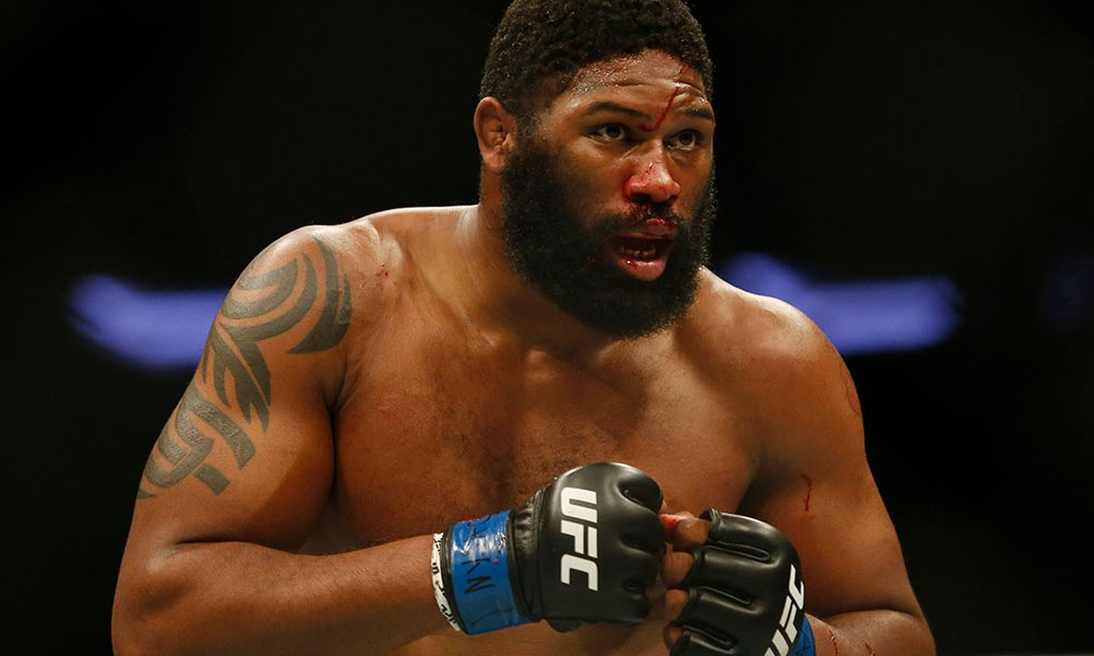 Curtis Blaydes says Brock Lesnar cannnot win fights without using steroids -