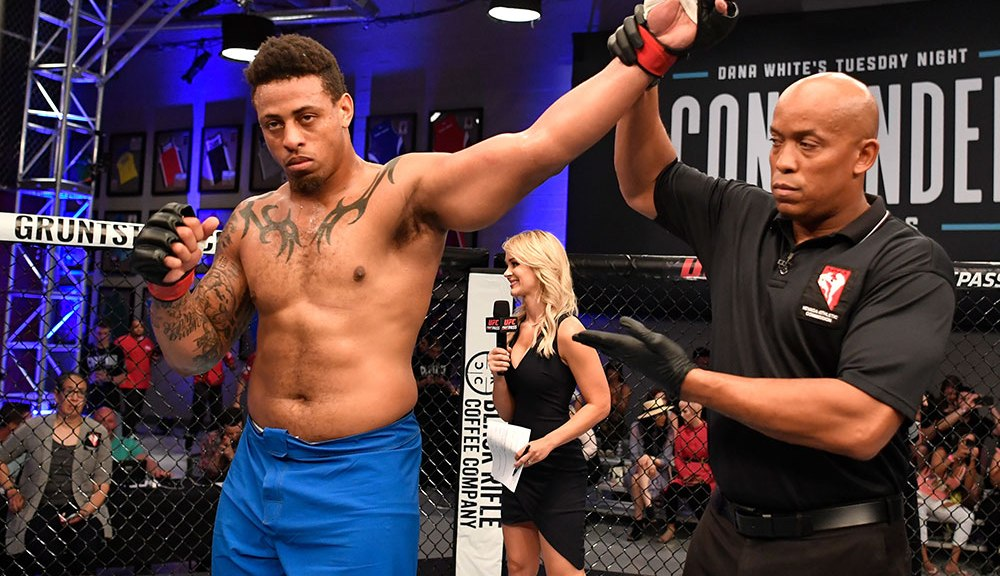 UFC: Greg Hardy set for second pro fight at Dana White's Contender Series 16 - Hardy