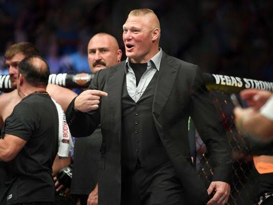UFC : Dana White says Brock Lesnar thought Stipe Miocic would beat Daniel Cormier -
