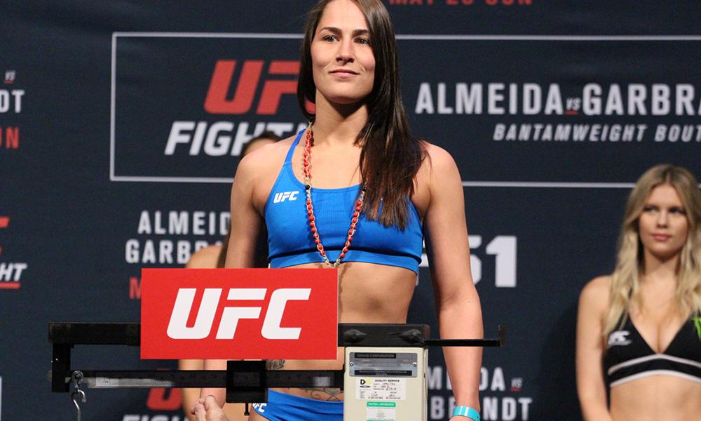 "UFC: Jessica Eye feels Brock Lesnar was being a ""D-bag"" at UFC 226 - Jessica Eye"