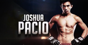 Joshua Pacio Pulls off a 'Rear Naked Chicken Wing' at One: Reign of Kings. -