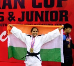 Rohini Mohite wins gold at Asian Cup Cadets & Junior Judo Championship -