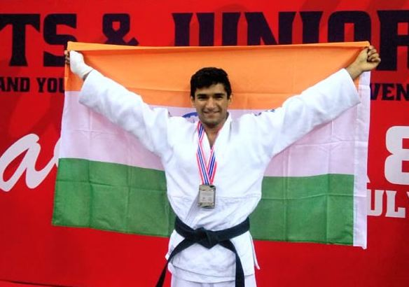 Young Indian judokas showcase a stunning performance at the Asian Cup Championship -
