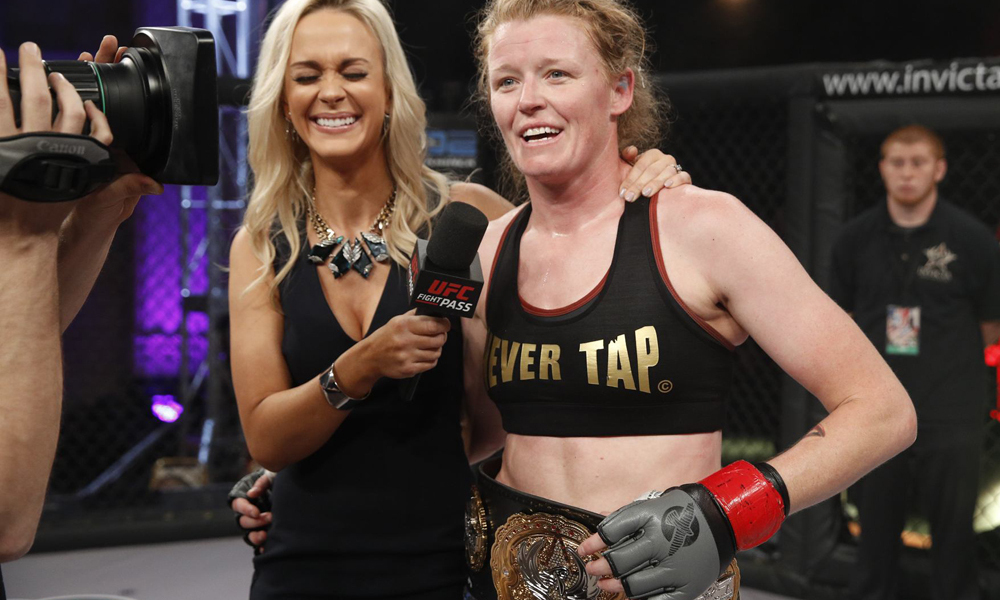 UFC: Ketlen Vieira Faces Tonya Evinger At UFC Fight Night Sao Paulo - Vieira