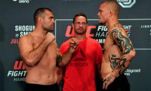 UFC Hamburg Weigh-in Results - Hamburg