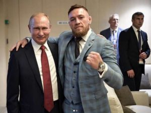 UFC: Conor McGregor calls Vladimir Putin as 'One of the Greatest Leaders of our time' - McGregor