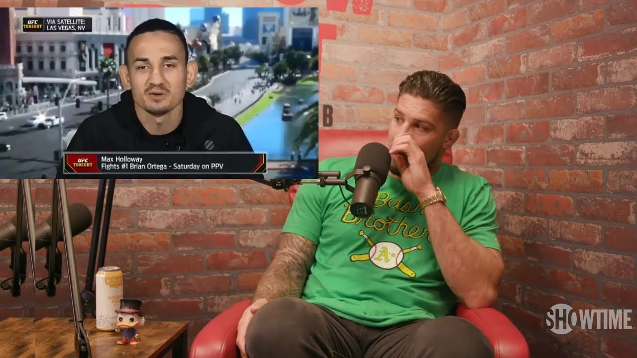 UFC: Max Holloway's team deny worrying stroke rumors - Holloway
