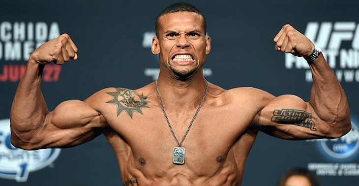 UFC: Thiago Santos vs. Kevin Holland has been added to UFC 227 - UFC 227