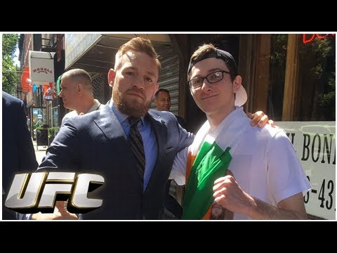 Conor McGregor Superfan gets in trouble for supporting the Double Champ. -