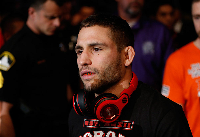 UFC: Chad Mendes says that his win at UFC Boise puts him back on top of the Featherweight division - Chad Mendes