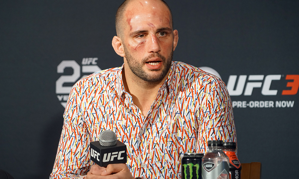 UFC: Volkan Oezdemir out of UFC 227 bout with Alexander Gustafsson due to injury - Oezdemir