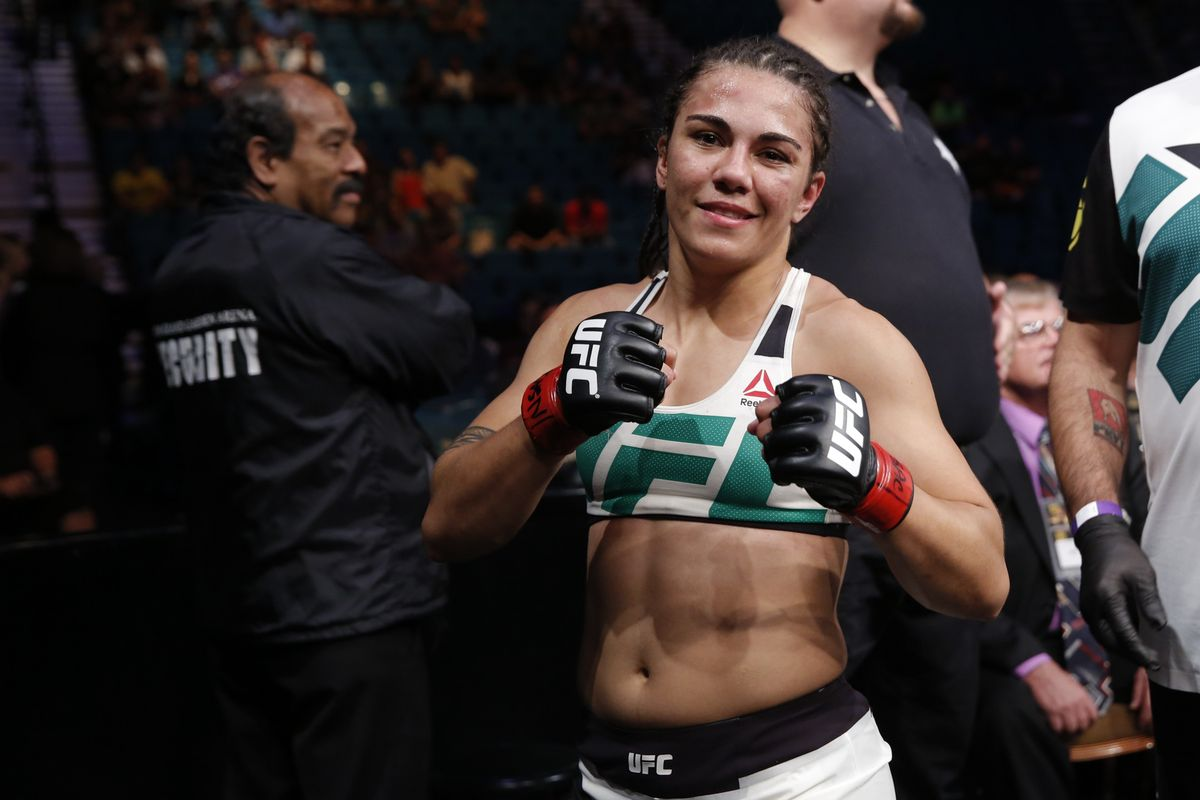 UFC: Jessica Andrade sells her own UFC gear to finance training camp - Andrade