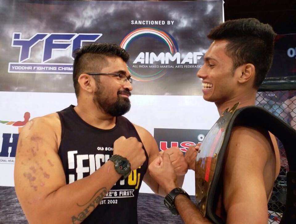 Indian MMA: Manthan Rane secures majority decision win at Ultimate Beatdown 29, Jitendra Khare suffers decision loss - Ultimate Beatdown 29