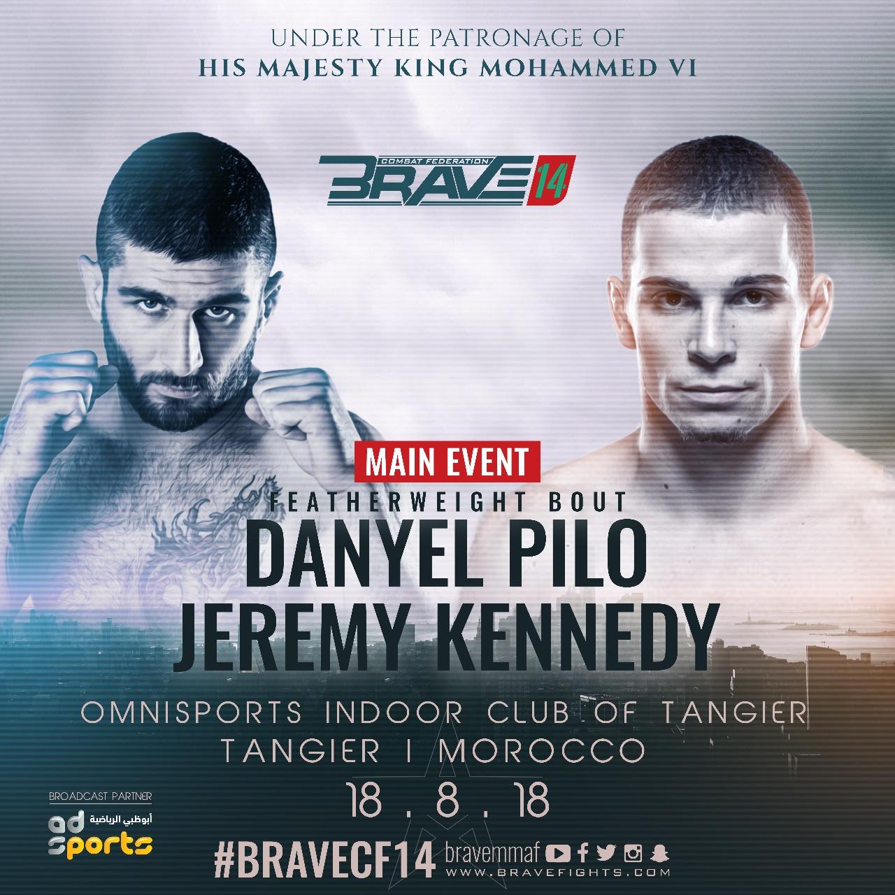 Pilò refuses to talk trash on Kennedy ahead of Bra - KHK MMA