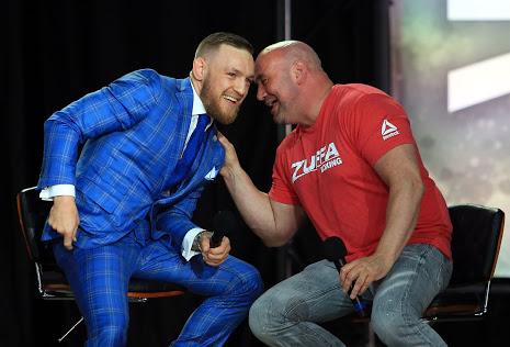 UFC: Dana White says 'Conor McGregor is my Ali, my Tyson' - Dana White