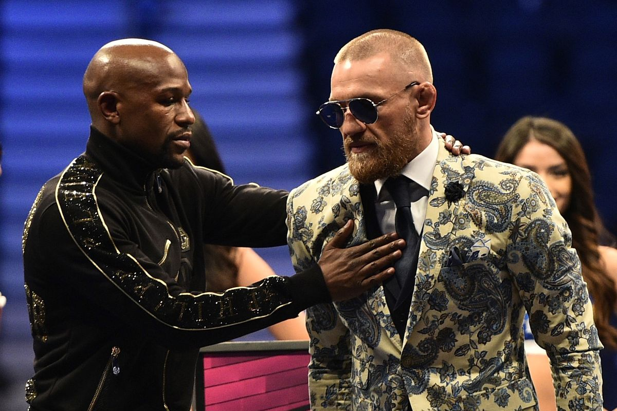 UFC: Floyd Mayweather calls Conor McGregor 'A Warrior', offers to train With Him Ahead of UFC 229 - Mayweather